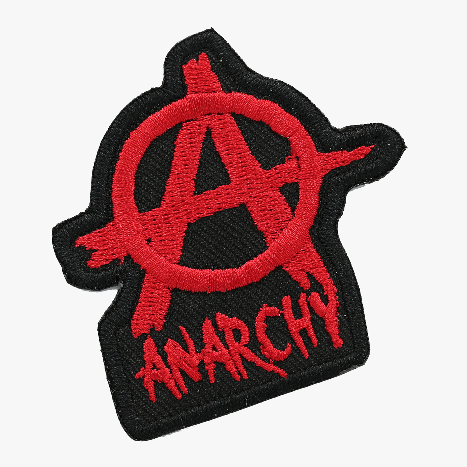 New ANARCHY EMBROIDERY PATCH W