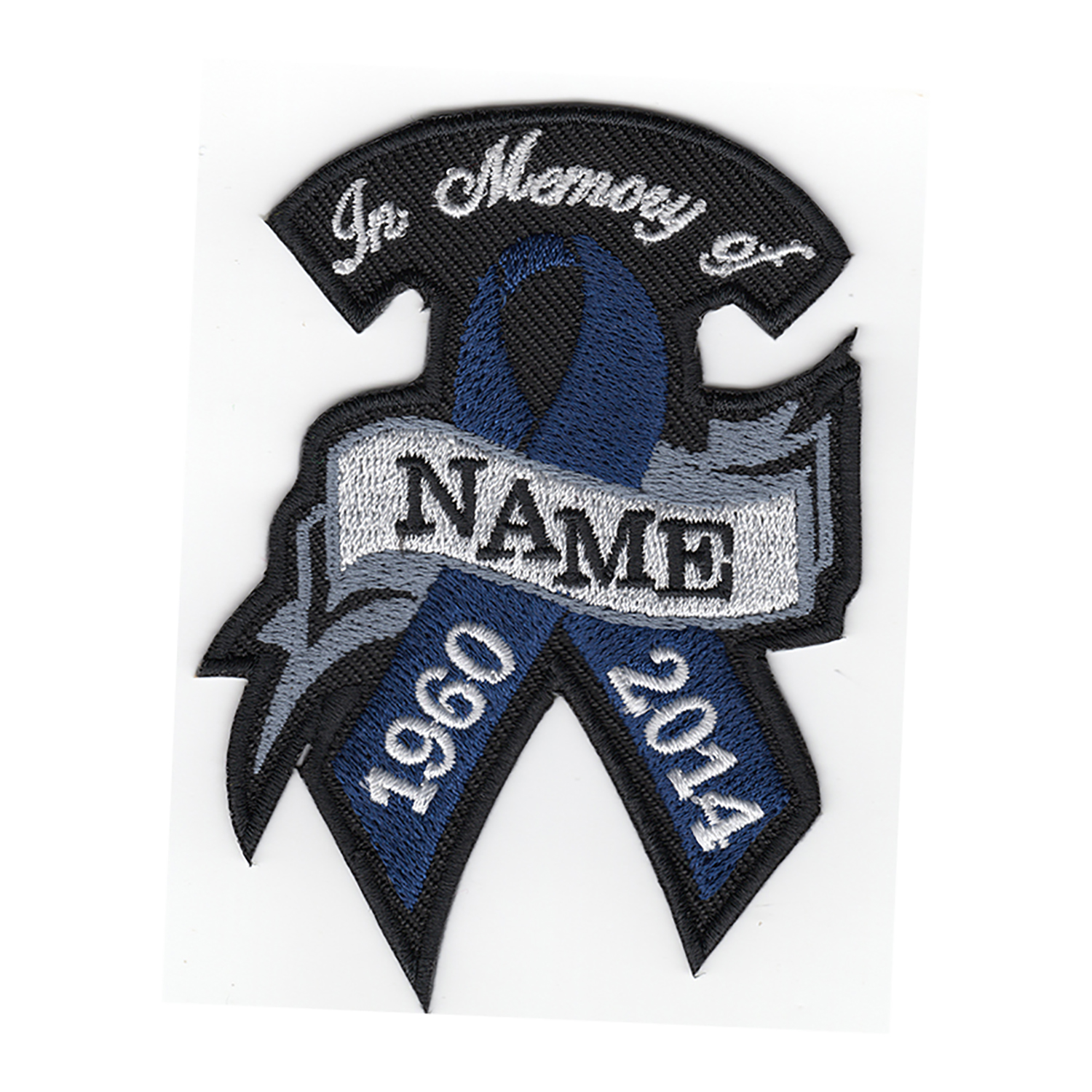 NAVY RIBBON MEMORY