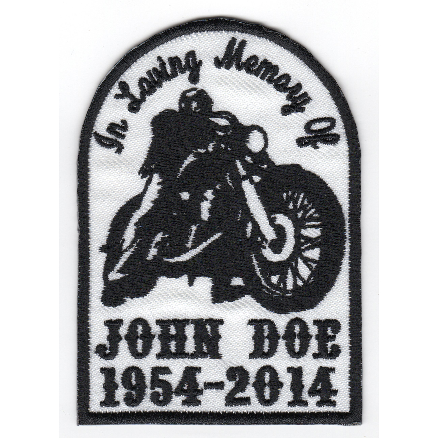 In Loving Memory Of ... Custom patch