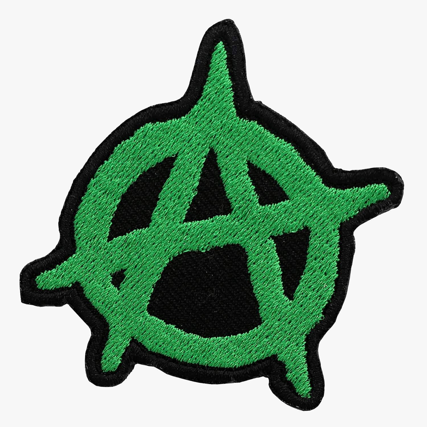 Anarchy Embroidery Biker Vest Patch