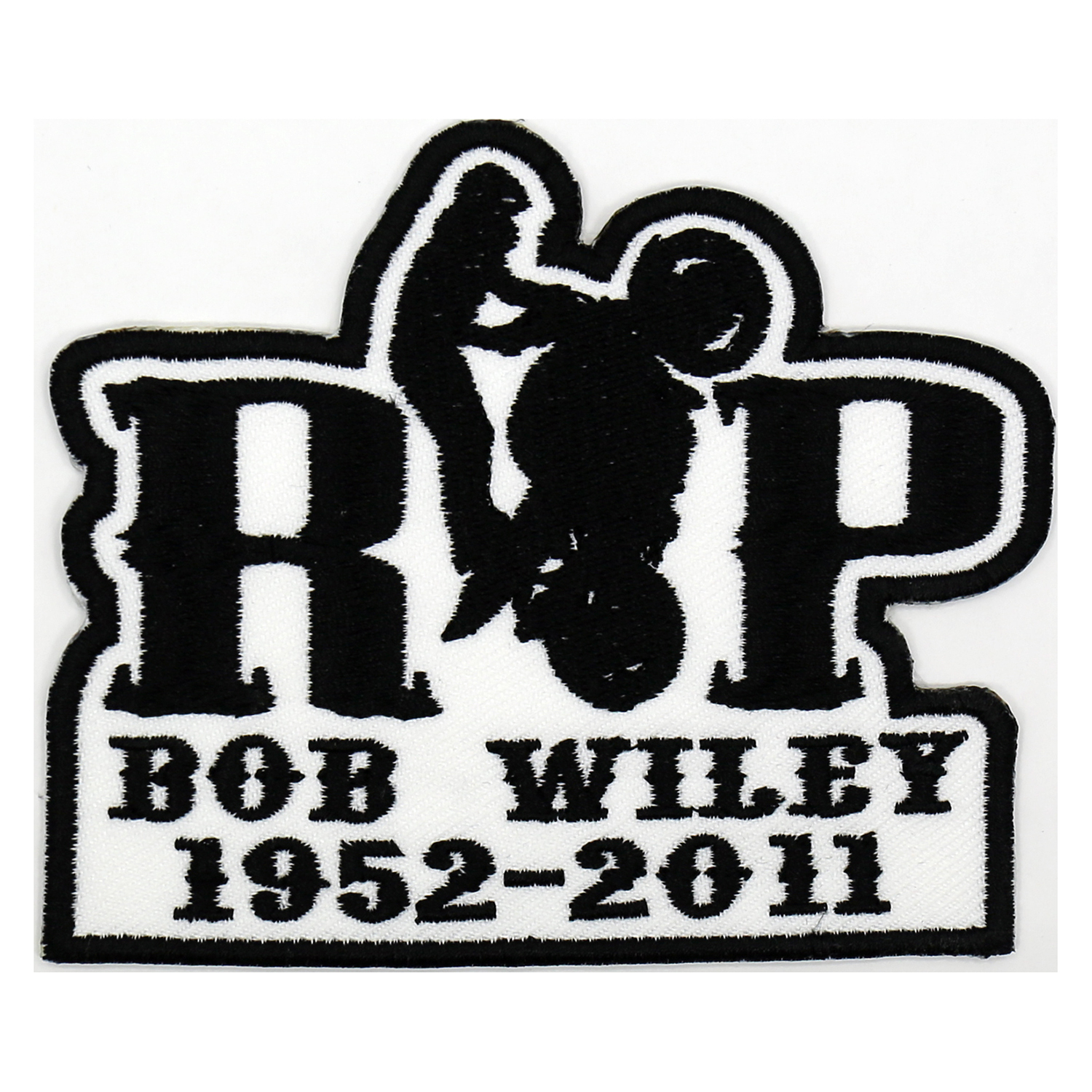 RIP Custom Memorial Biker Vest Embroidery Patch