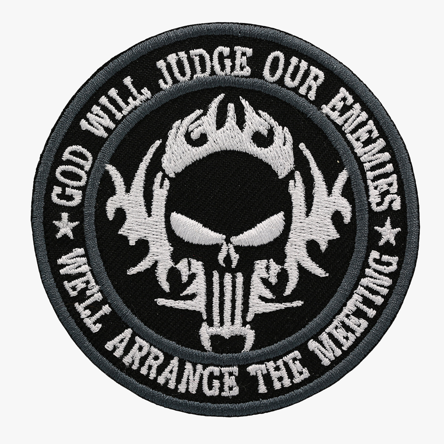 INFIDEL JUDGE ENEMY PUNISHER