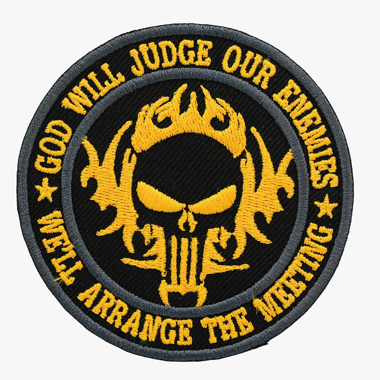 INFIDEL JUDGE ENEMY PUNISHER
