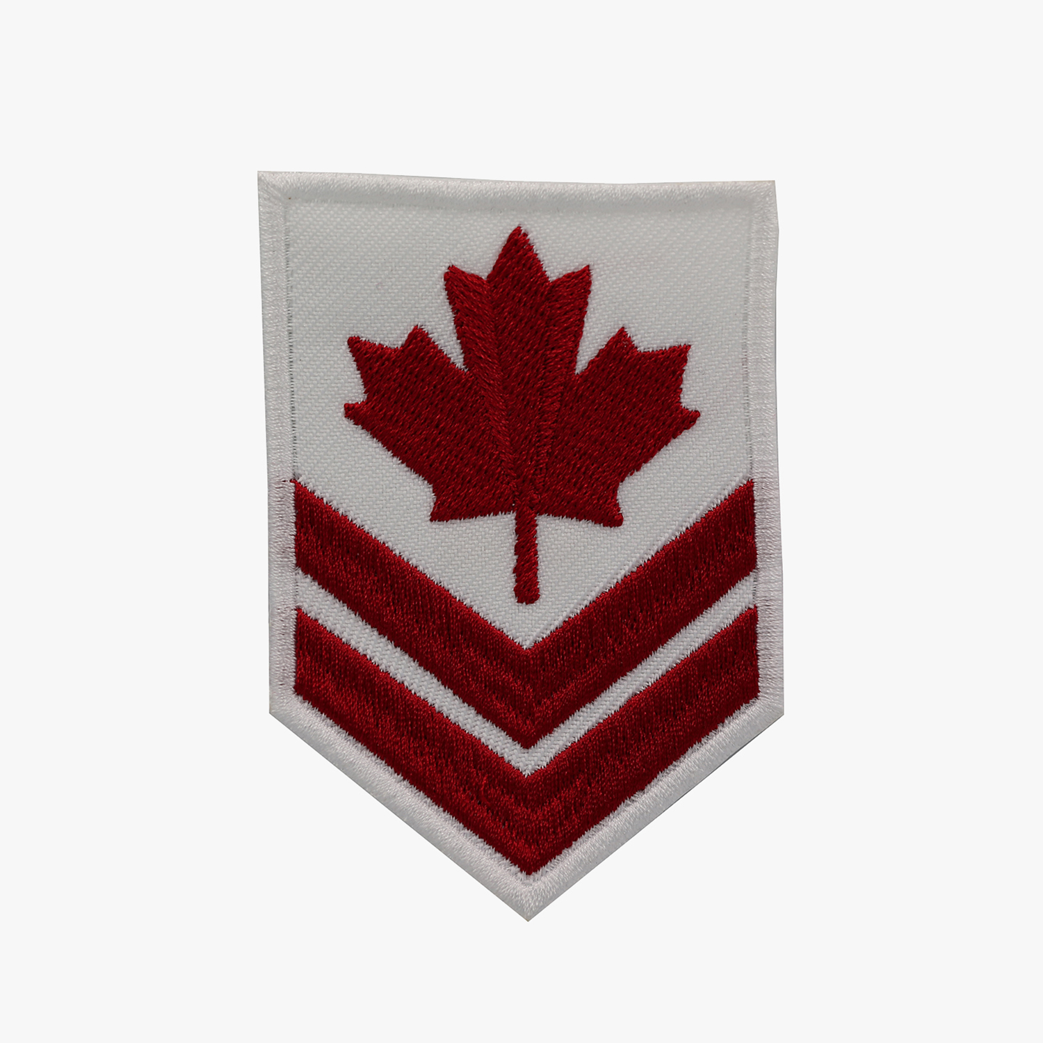 CANADIAN SERGEANT BIKER Embroidered Patch