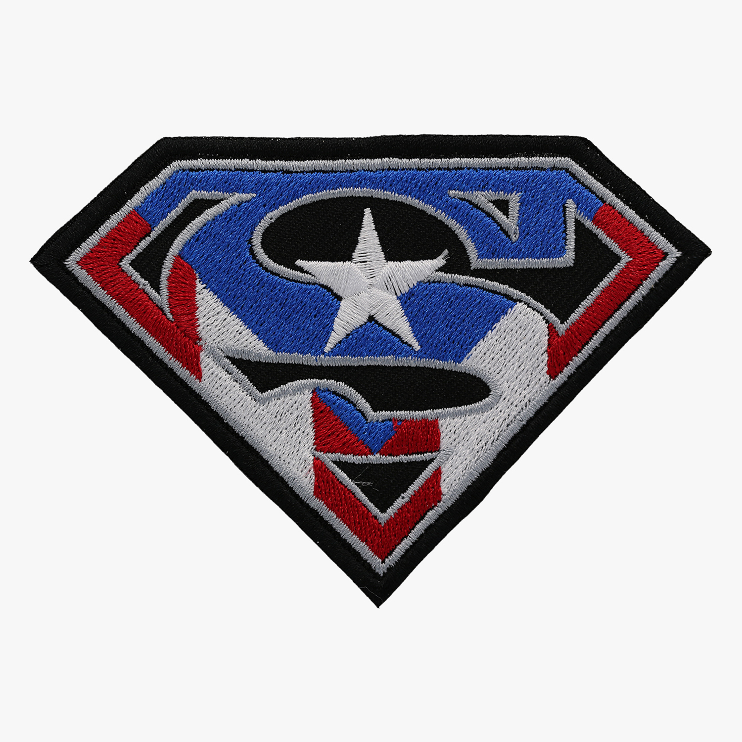 Super Puerto Rico SHIELD BIKER PATCH