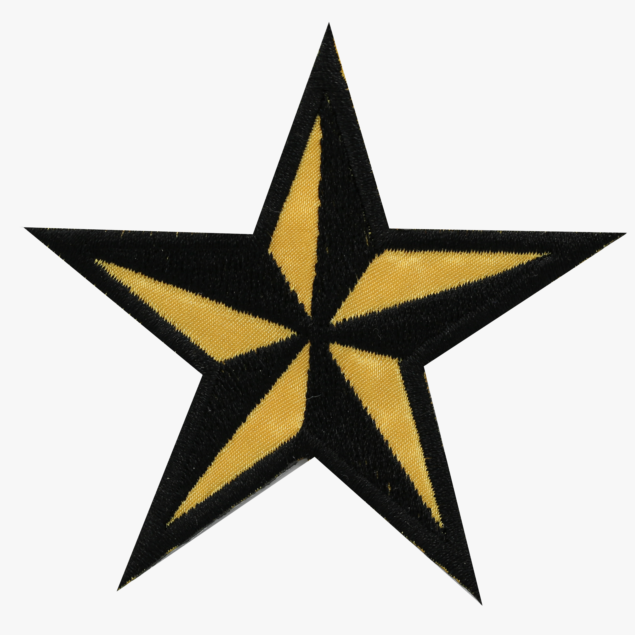 New NAUTICAL STAR Embroidered PATCH