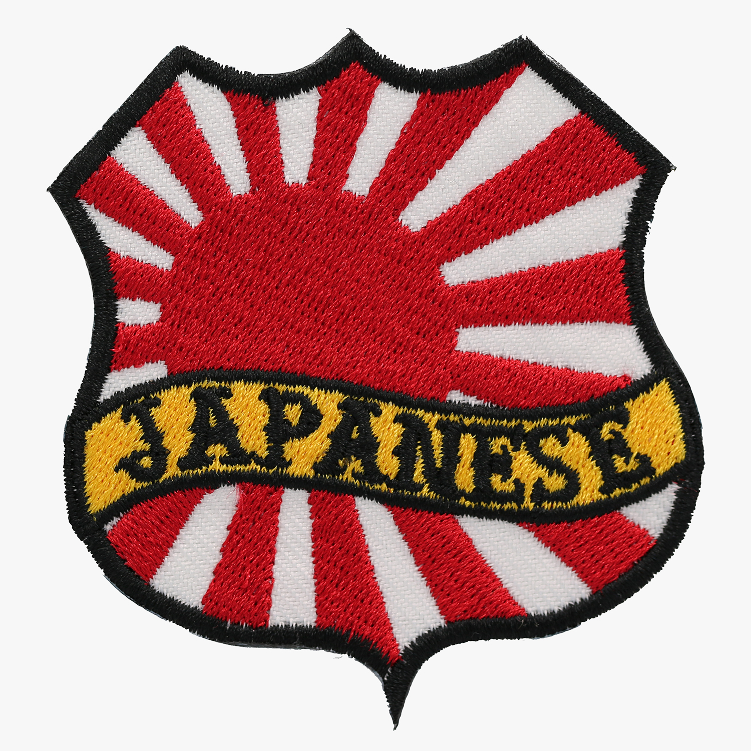 JAPANESE FLAG BANNER SHIELD BIKER MC PATCH