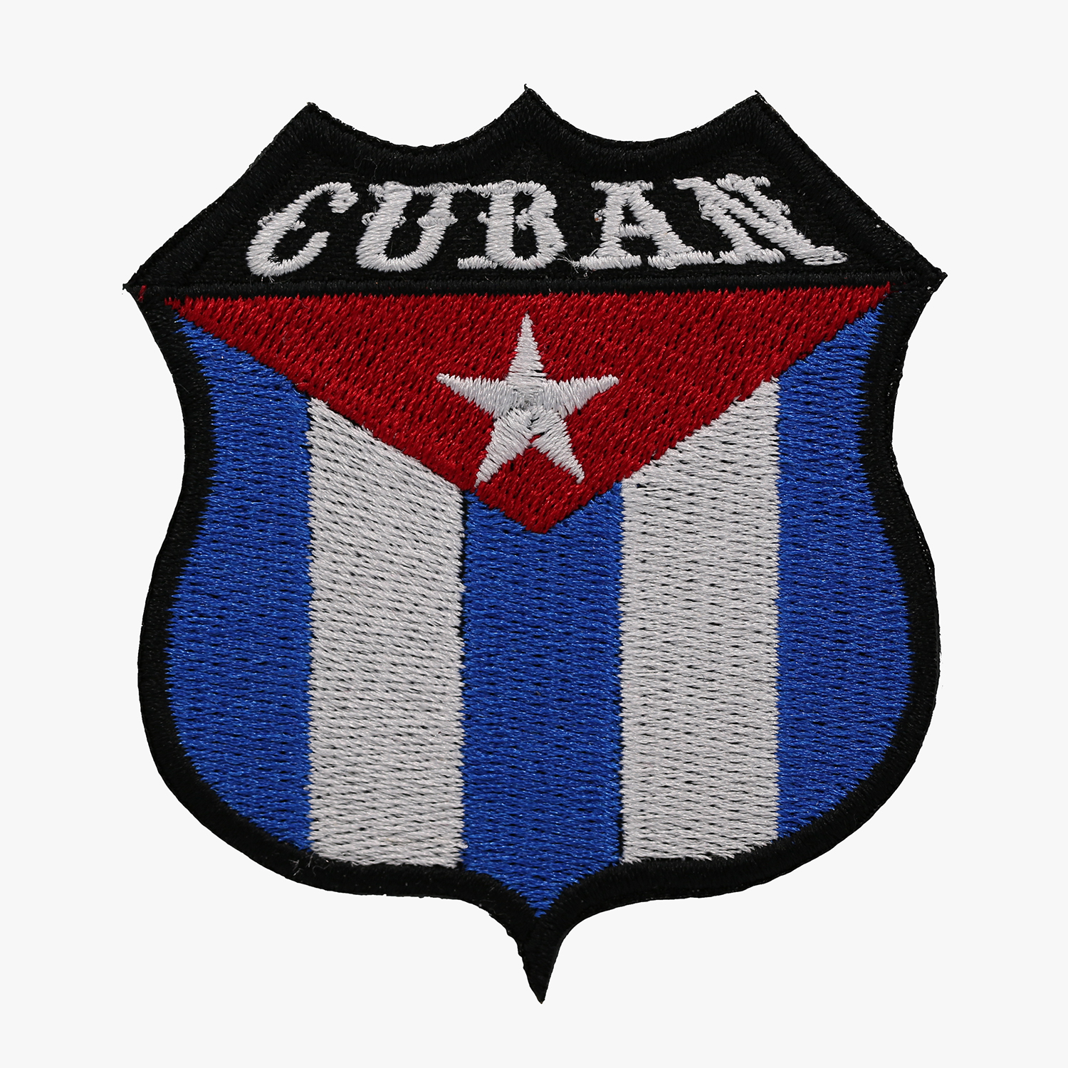 CUBAN Embroidery Biker Patch