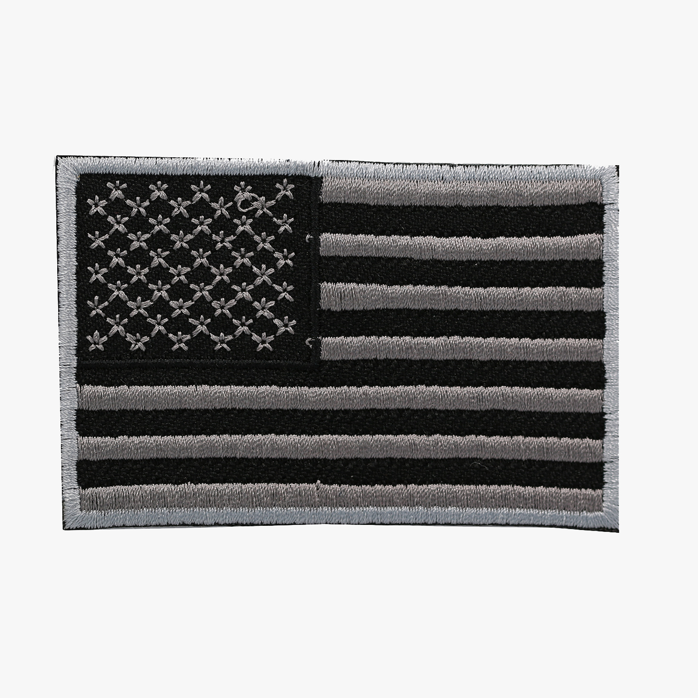 USA FLAG BIKER MC EMBROIDERY PATCH