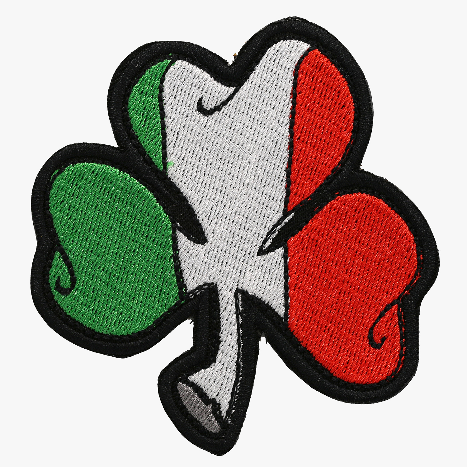 IRISH CLOVER FLAG BIKER EMBROIDERY PATCH