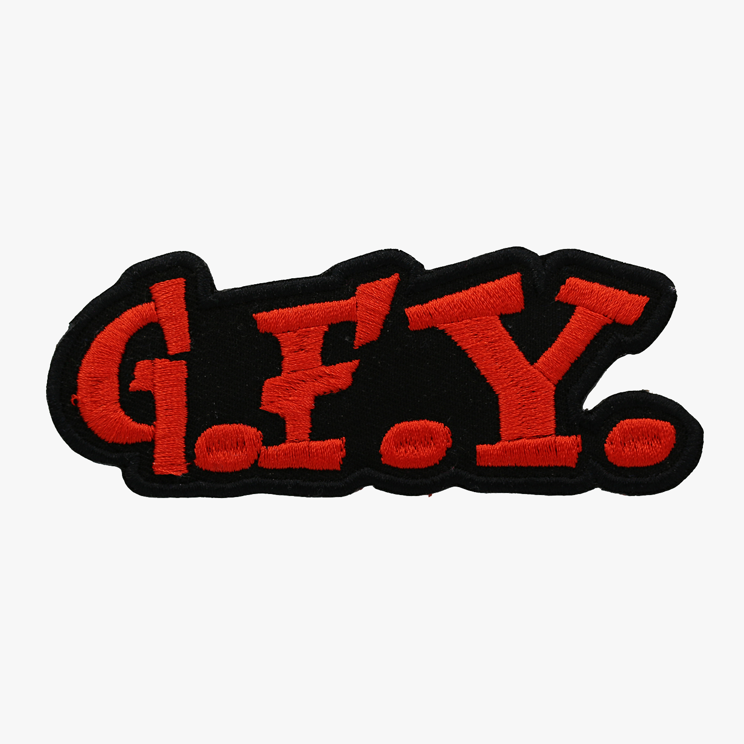 GFY Go F**** Yourself Motorcycle Club Embroidered Biker Patch