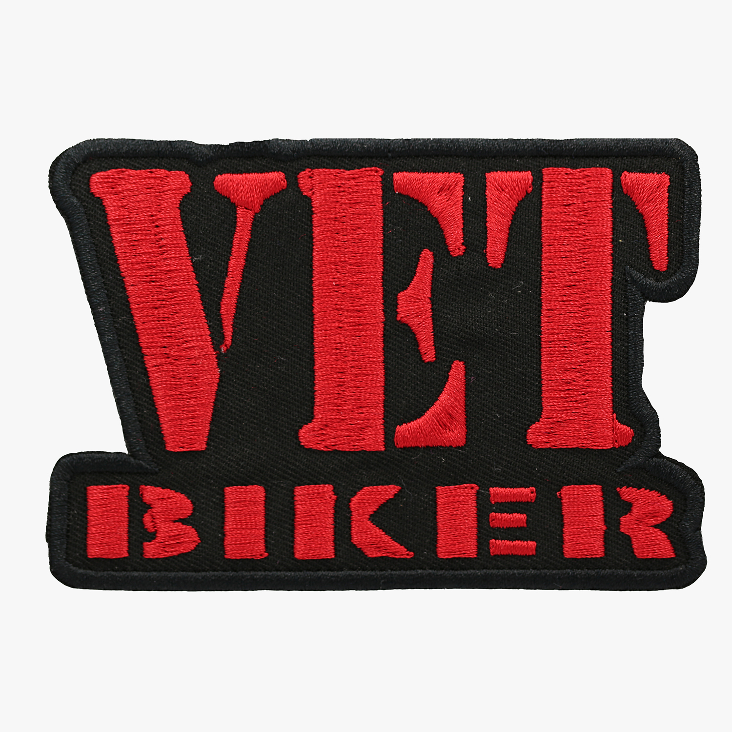 Vet Biker Motorcycle Club Embroidered Vest Patch