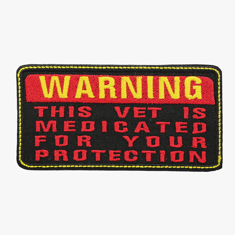 Warning Vet Medicated