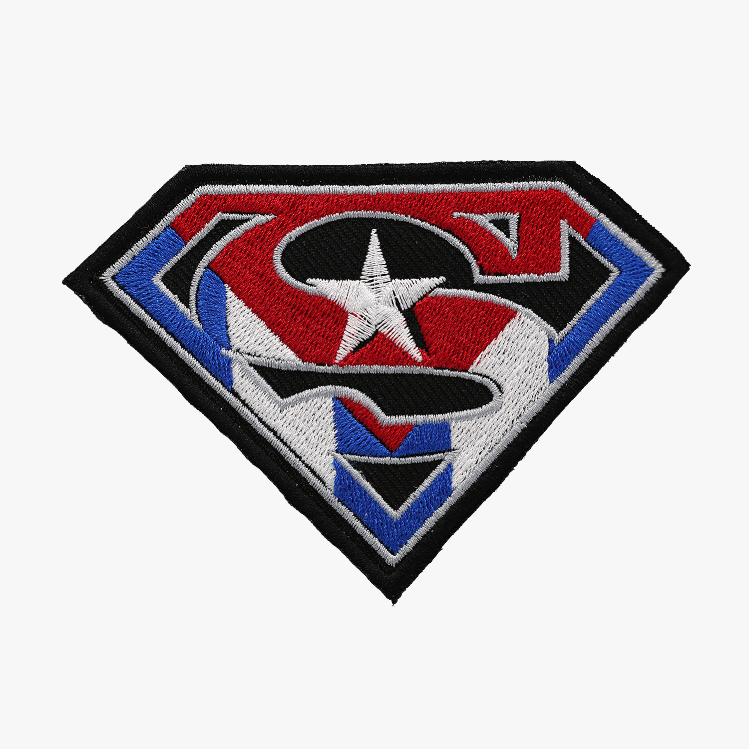 Super CUBAN SHIELD BIKER PATCH