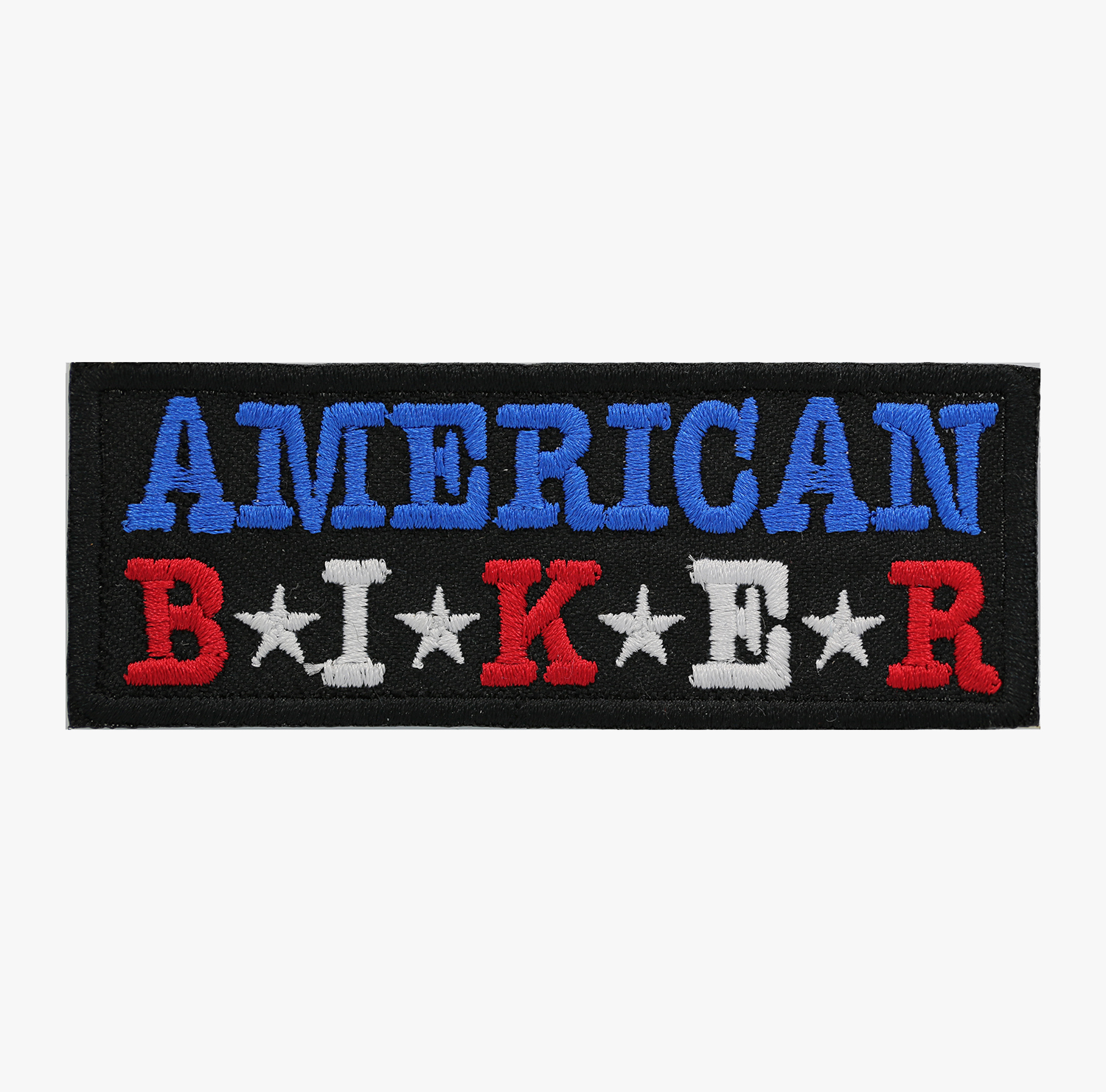 AMERICAN BIKER EMBROIDERY BIKER PATCH