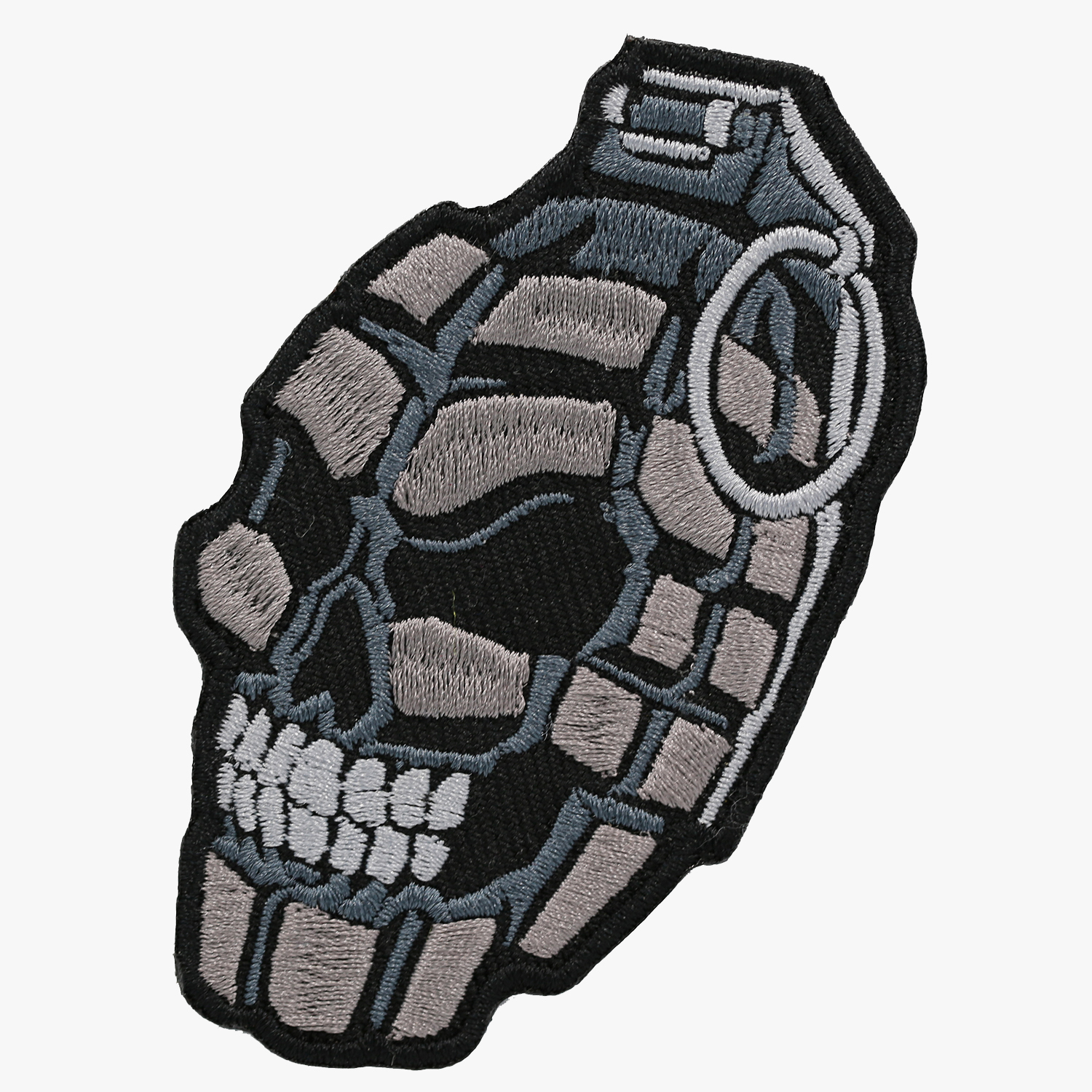 GRANADA SKULL BIKER NC PATCHES