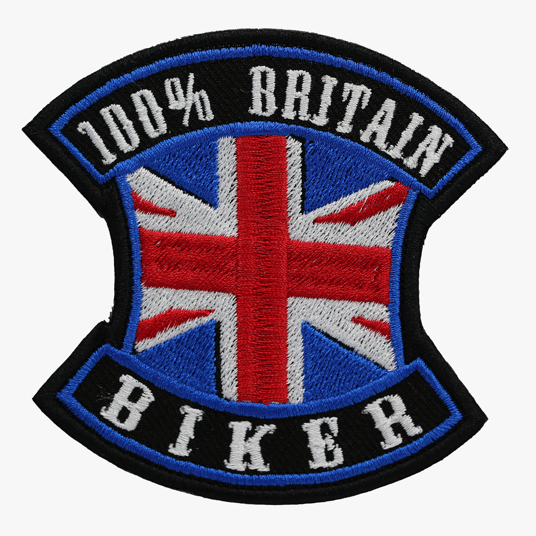 100 PERCENT BRITAIN BIKER