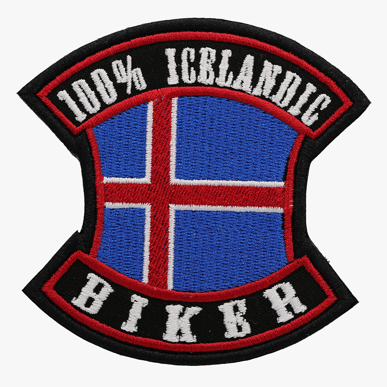 100 PERCENT ICELANDIC BIKER