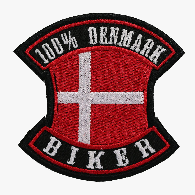 100 PERCENT DENMARK BIKER