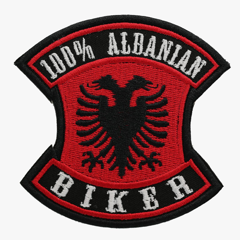 100 PERCENT ALBANIAN BIKER