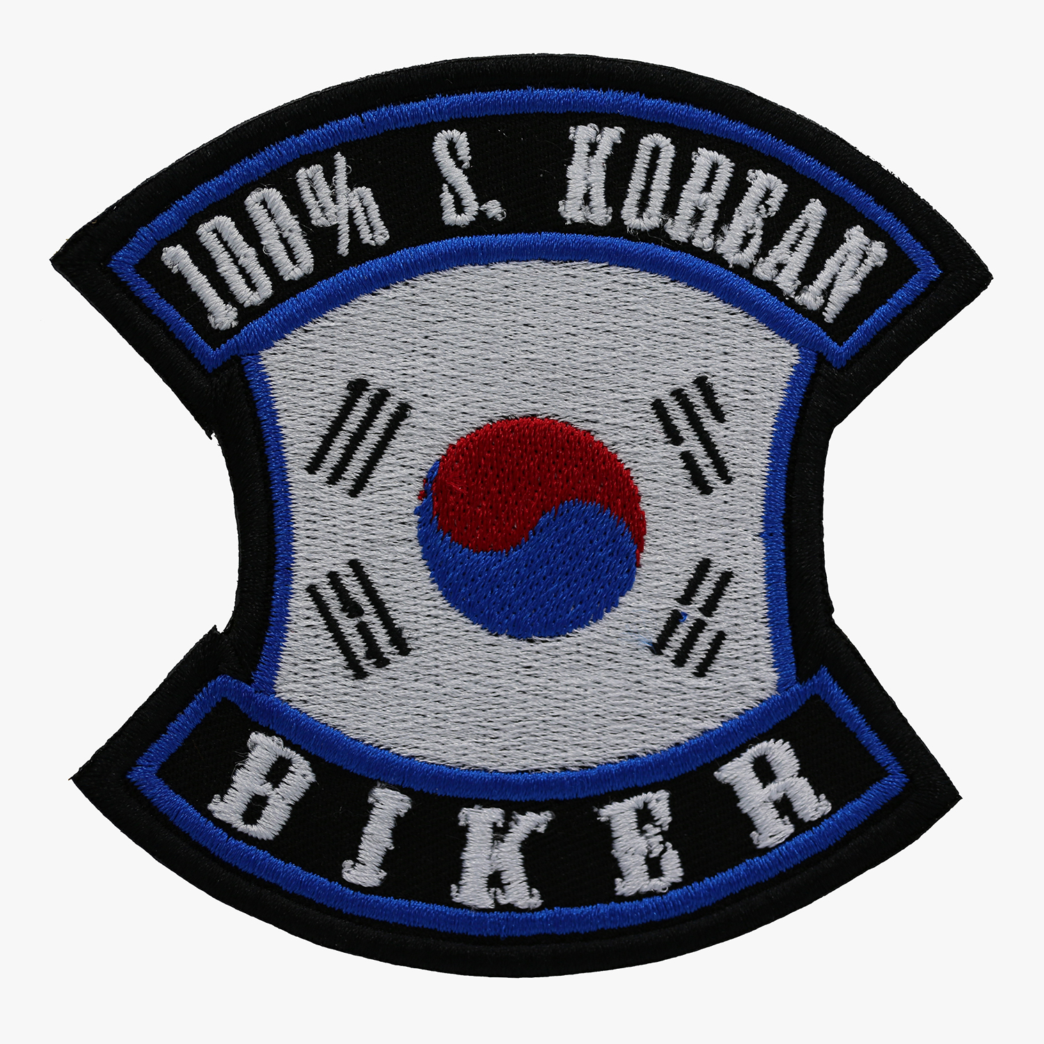 100 PERCENT S. KOREAN BIKER