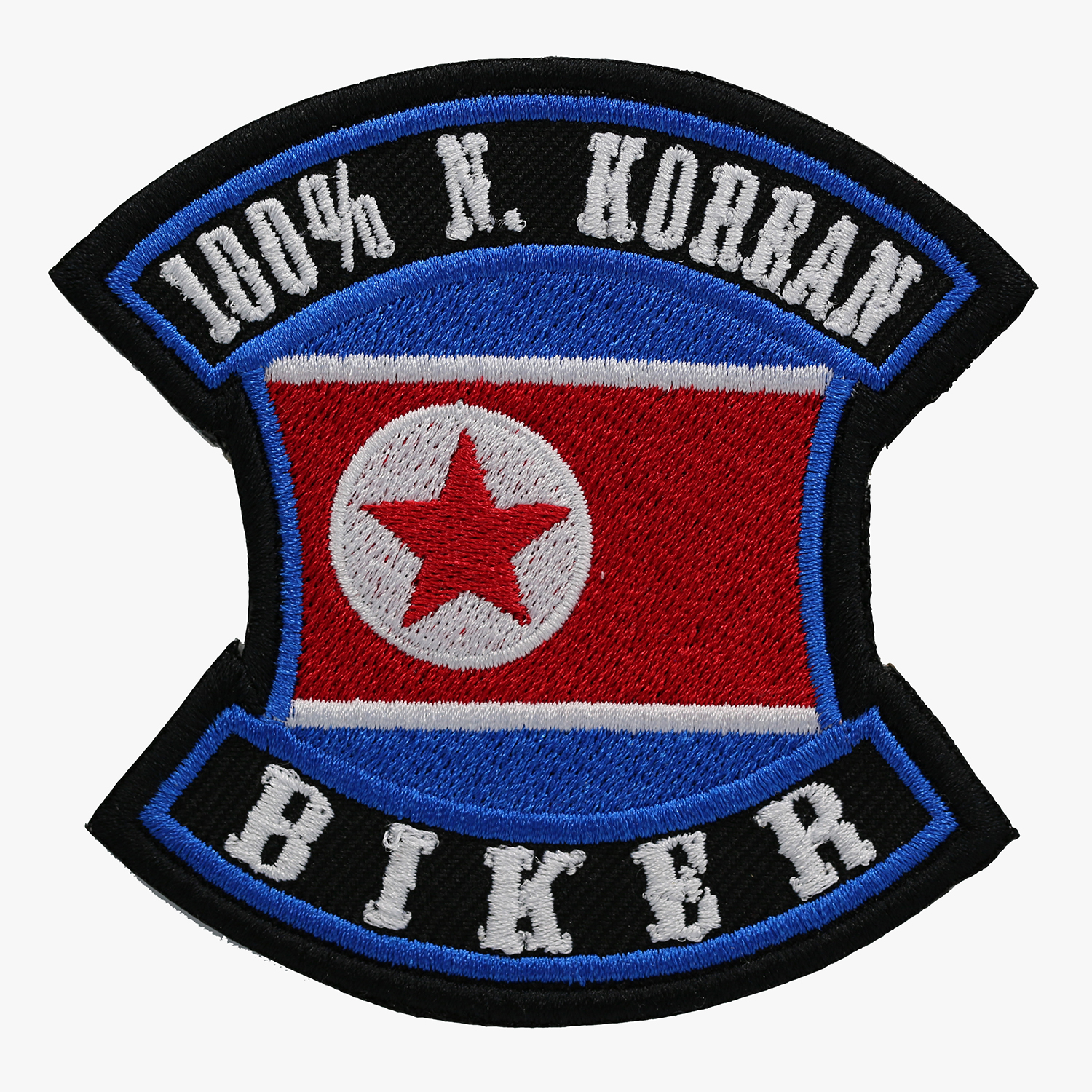 100 PERCENT N. KOREAN BIKER