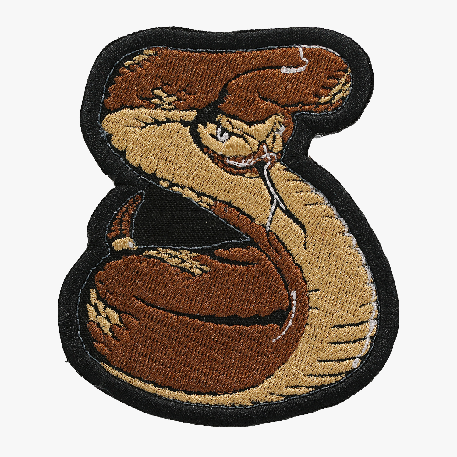 NC PATCHES BIKER SNAKE Embroidered Vest PATCH