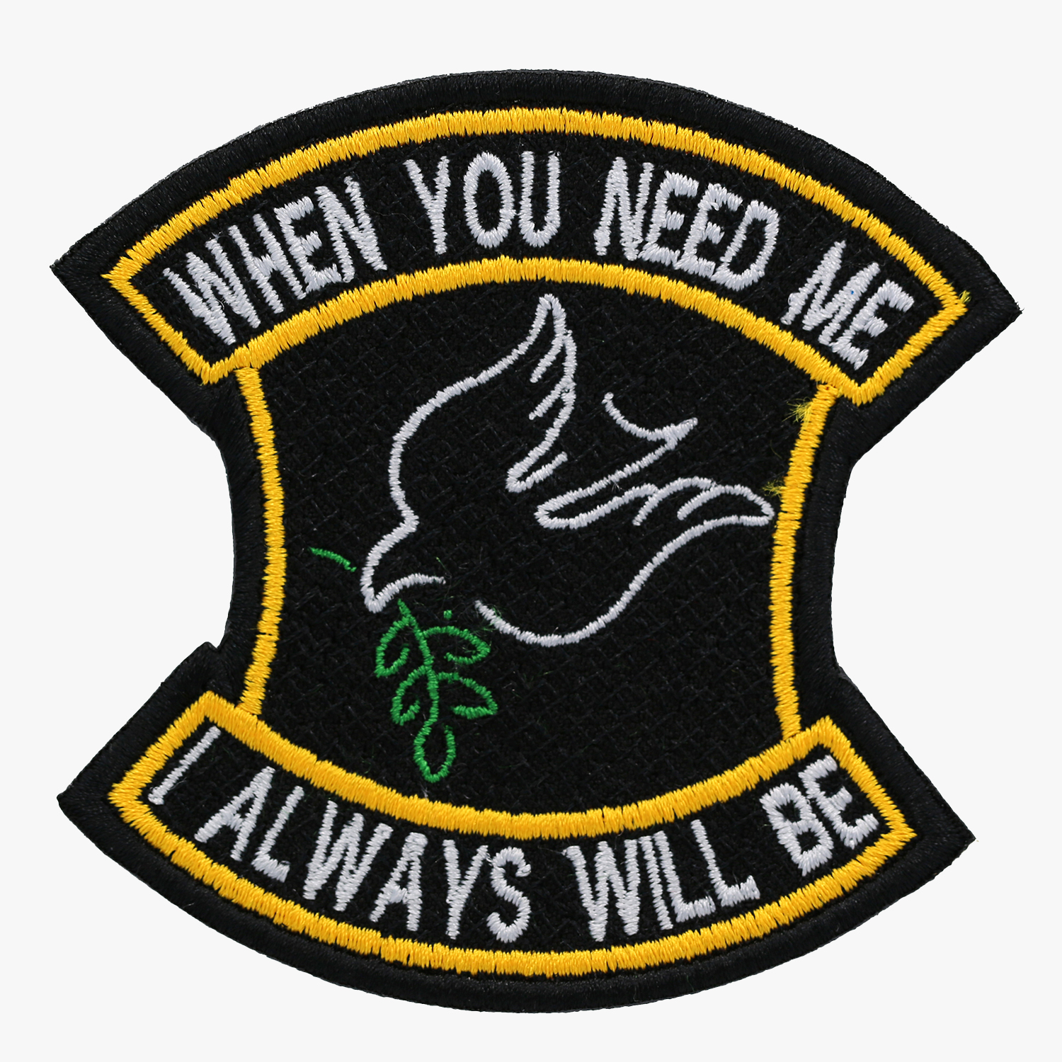 Embroidered Christian Patch