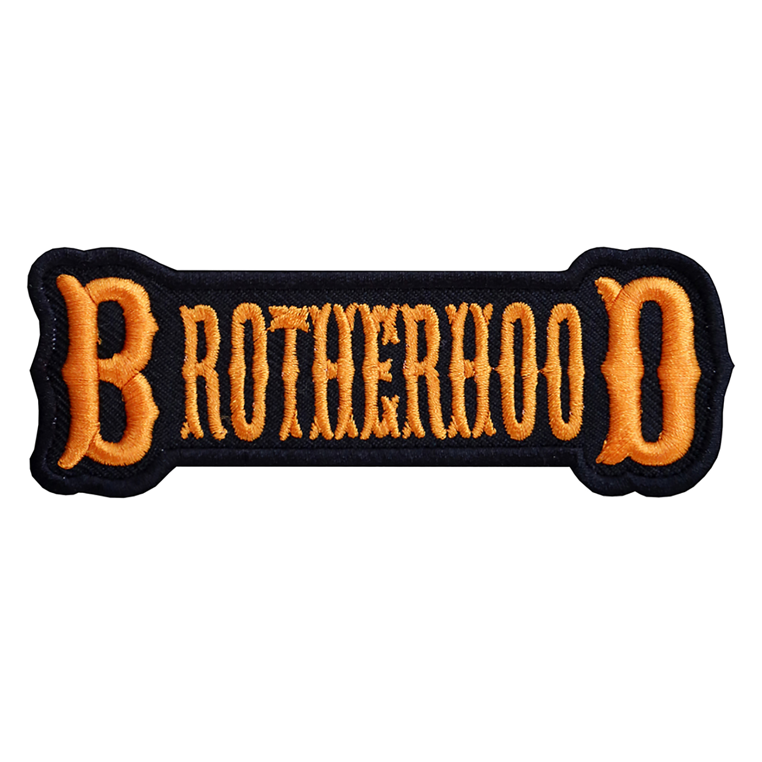 NC PATCHES BROTHERHOOD EMBROIDERED BIKER PATCH