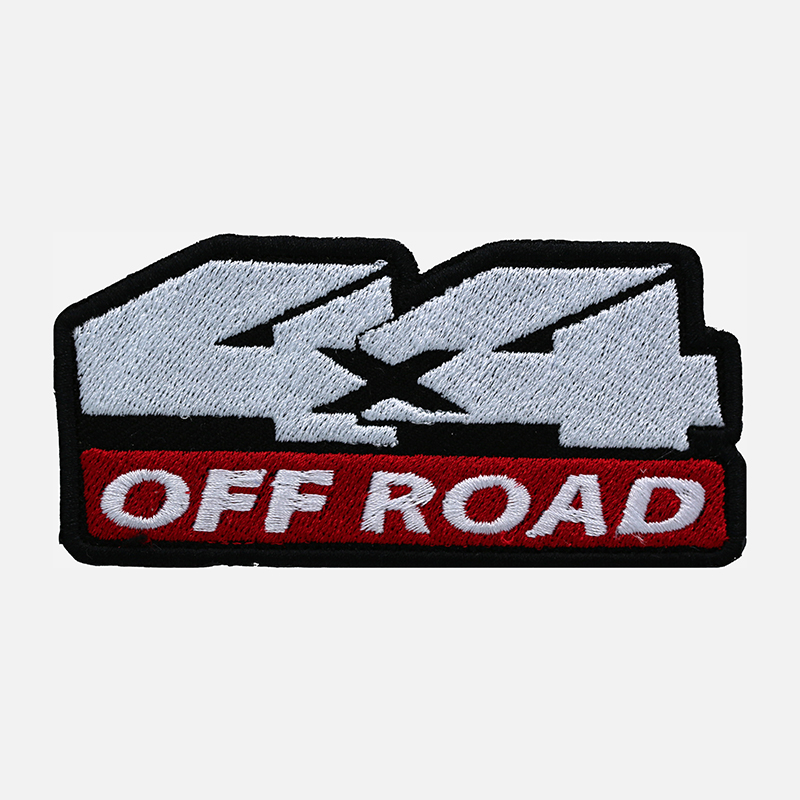 4 x 4 Off Road Logo Embroidered Patch