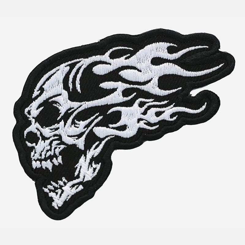 Tribal Flame Skull