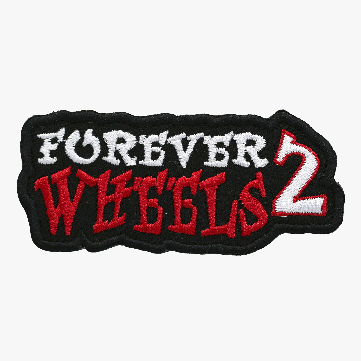 Forever Two Wheels Embroidered Biker Vest Patches