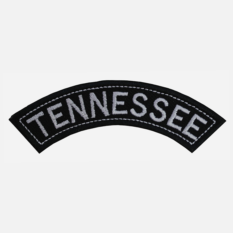 Tennessee Mini Top Rocker Embroidered Vest Patch